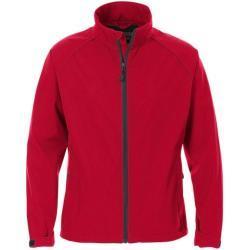 Acode softshell jakke, dame - Softshell jakke fra Acode, Rød 2XL
