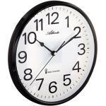 Atlanta 4378 Radio Wall Clock, Black