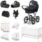 BabyTrold startpakke - Cozy - Sort