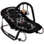 Baninni vippestol til baby Relax Classic sort cirkel BNBO002-BKCL