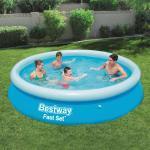 Bestway Fast Set oppustelig swimmingpool rund 366 x 76 cm 57273