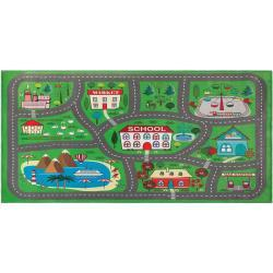 Børnetæppe 80x150 cm Grøn TUTAK