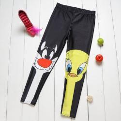 Cartoon Kids Leggings (Medium)