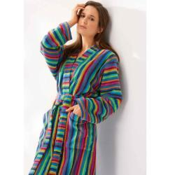 Cawö Girls Long Bathrobe 7048-84 (32/34 - XS)