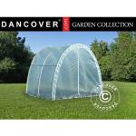 Dancover Polytunnel Drivhus 120, 2,2x2x1,9m, 4,4m², Transparent