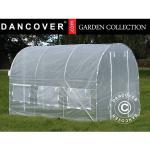 Dancover Polytunnel Drivhus 2x3x2m, 6m², Transparent