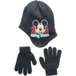 Disney Boy's Mickey Mouse Hat, Dark Grey, X-Small (Manufacturer Size:52)