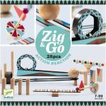 Djeco Kuglebane - 28 dele - Zig & Go - Træ