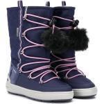 Geox Kids vinterstøvler med pompon-detalje - Lilla