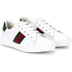 Gucci Kids Web low-top sneakers - Hvid