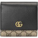 Gucci mellemstor GG Marmont pung - Sort