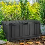 Keter opbevaringskasse til haven Kentwood 350 l antracitgrå