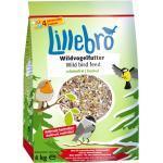 Lillebro Skallefrit-Mix: Vildtfuglefoder + Jordnøddekerner - 4 kg + 1 kg