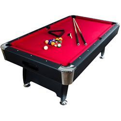 Maxstore Premium 8 ft Billiard Table + Accessories, 9 Colour Variations, 244 x 132 x 82 cm (L x W x H)