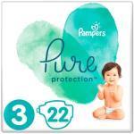 Pampers Pure Protection Bleer str 3 (6-10kg) - 22 stk