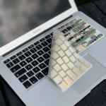 Philbert MacBook Keyboard Cover m. Dansk Tastatur - Camouflage
