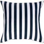 Pudebetræk 60x63cm - Nordic Stripe Mørke blå - Stribet - 100% Bomuldssatin