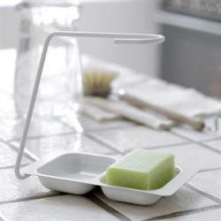 Steel Function - Stativ til opvaskebørsten - hvid
