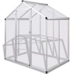 Udendørs voliere i aluminium 178 x 122 x 194 cm