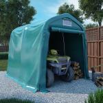 vidaXL garagetelt 1,6x2,4 m PVC grøn