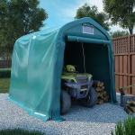 vidaXL garagetelt 2,4x2,4 m PVC grøn