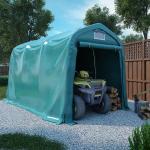 vidaXL garagetelt 2,4x3,6 m PVC grøn