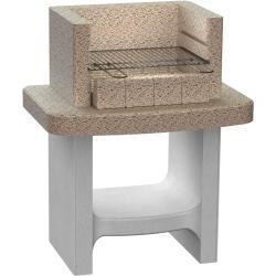 vidaXL kulgrill med hylde beton