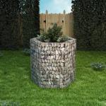 vidaXL sekskantet gabion-højbed 100x90x100 cm