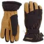 Ziener Kallista PR Ladies Katlen GTX R Gore Warm Gloves Cycling Gloves, brown