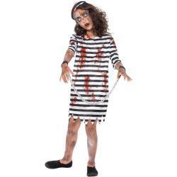 Zombie Fangepige Børnekostume